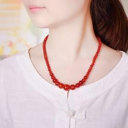 Изысканный натуральный агат ожерелье, драгоценный камень ожерелье, Агат башня на цепочке ювелирные изделия