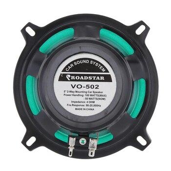 5inch 2 Way Vehicle Car HiFi Coaxial Speaker VO-502 100W 4Ohms Universal Car HiFi Speaker Door Auto Audio Music Loudspeaker