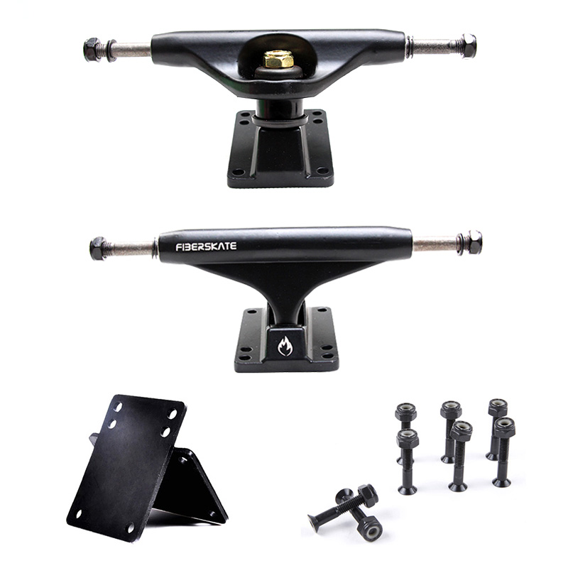 5-Inch Practical Skateboard Trucks 3mm Gasket 29mm Bridge Nail Combo Set Aluminum Alloy Skate Board Accessories