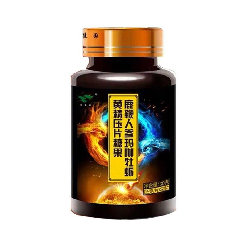 Tabletas de Ginseng, Maca Oyster Sealwort, para hombres, mejorar la inmunidad, calidad del sueño, potencia extrema, mejorar la h 1