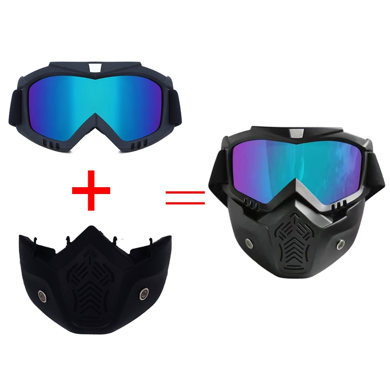 Winter Windproof Skiing Glass Motorbike Helmets Goggles Ski Snowboard Mask Snowmobile Goggles Motocross Sunglasses