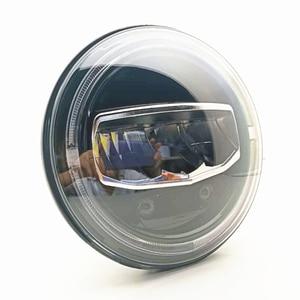 Image 5 - Nuovi accessori per Auto 7 Pollici A Led Fari DRL Halo Ambra Disabilita Luce per Jeep Wrangler JK TJ CJ LJ Rubicon sahara Illimitato
