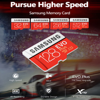 SAMSUNG U3 4K Micro SD 128 GB 32GB 64GB 256GB 512GB Micro SD Card SD/TF Flash Card Memory Card 32 64 128 gb microSD per telefono