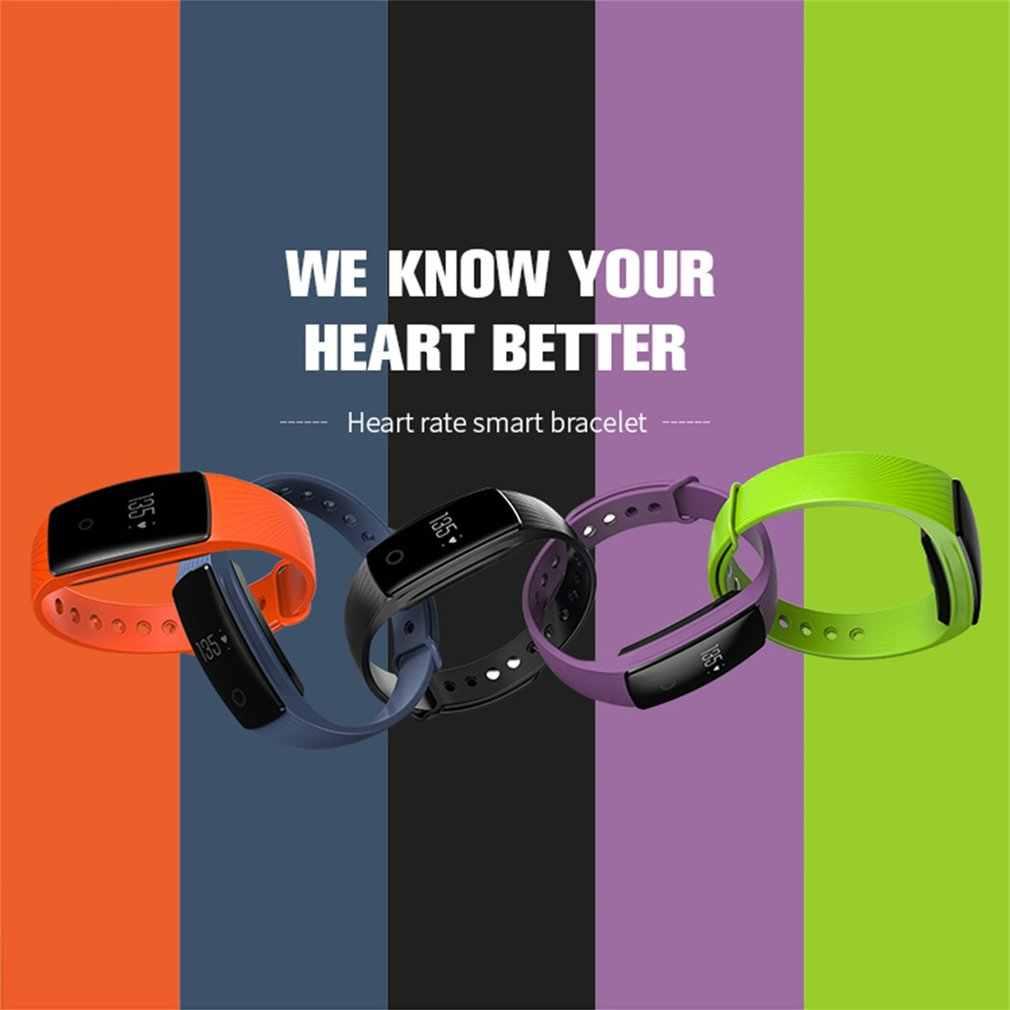 LEMFO ID107 رصد معدل ضربات القلب عداد الخطى الرياضة مقاوم للماء سوار ساعة ذكية سوار اللياقة البدنية تعقب آيفون لسامسونج