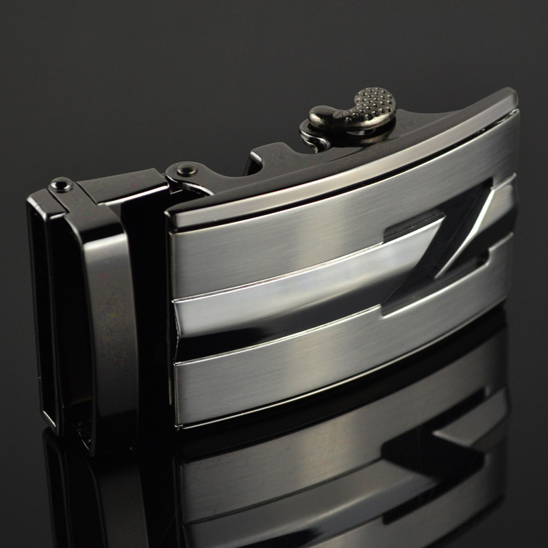 Genuine Men's Belt Head, Belt Buckle,Leisure Belt Head Business Accessories Automatic Buckle Width 3.5CM Luxury Fashion LY187823