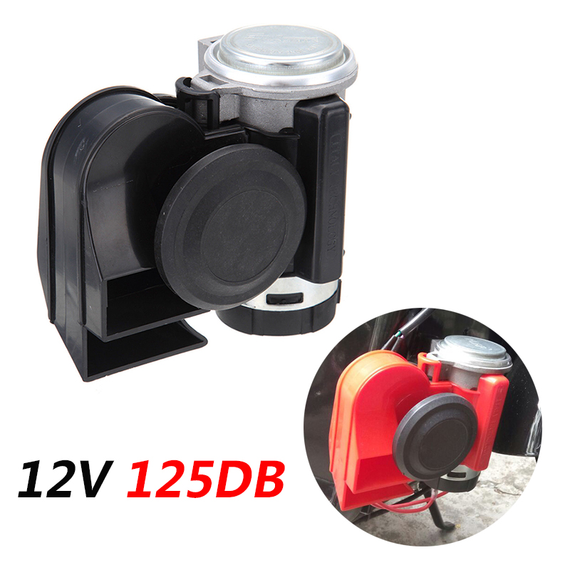 Car Motorcycle Air Loud Motorbike Horn 12V Super Loud Truck Horns Truck Yacht Boat Compact Dual Tone Electric Pump|Multi-tone & Claxon Horns|   - AliExpress