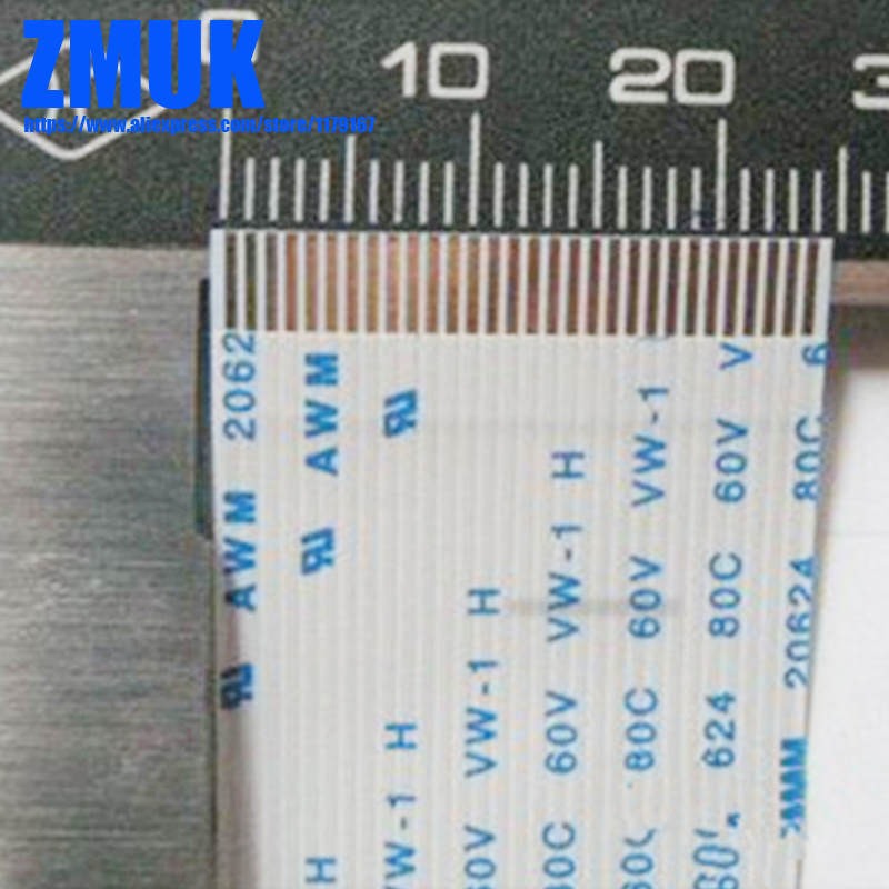 6-30Pins 0.8MM Spacing FFC Ribbon Cable