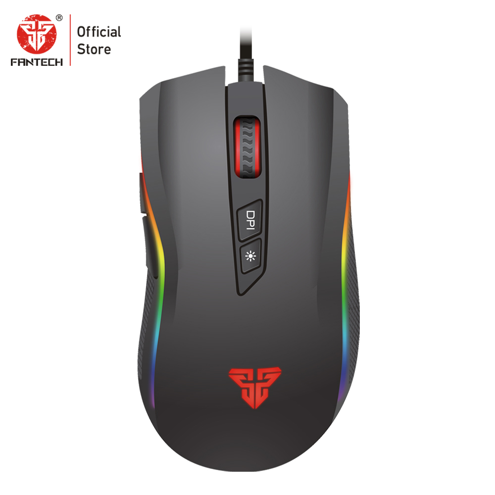 Image 5 - FANTECH X4S Wired Mouse Gaming Mouse 4800 DPI USB Mouse 6 Buttons Macro Optical Mouse Mice for PC and Laptop Game-in Mice from Computer & Office