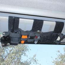 Kosibate tactique Molle véhicule visière panneau outil pochette CD sac de rangement camion voiture pare soleil organisateur Auto engrenage accessoires support