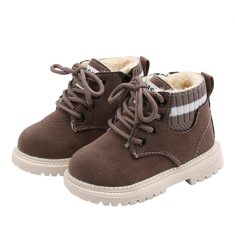 COZULMA Baby Kids Boots For Girls Boys Autumn Winter Shoes Children Martin Boots Baby Boy Girl Snow Boots Girls Boys Warm Shoes