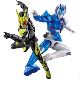 Image 2 - Bandai Kamen Rider Nul Een 01 Insect Vorm Schieten Wolf Rkf Super Beweegbare Hand Speelgoed Figurals Model Poppen Brinquedos