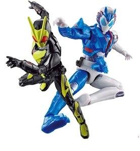 Image 2 - Bandai Kamen Rider sıfır bir 01 böcek formu çekim kurt RKF süper hareketli el oyuncaklar Figurals Model bebekler Brinquedos