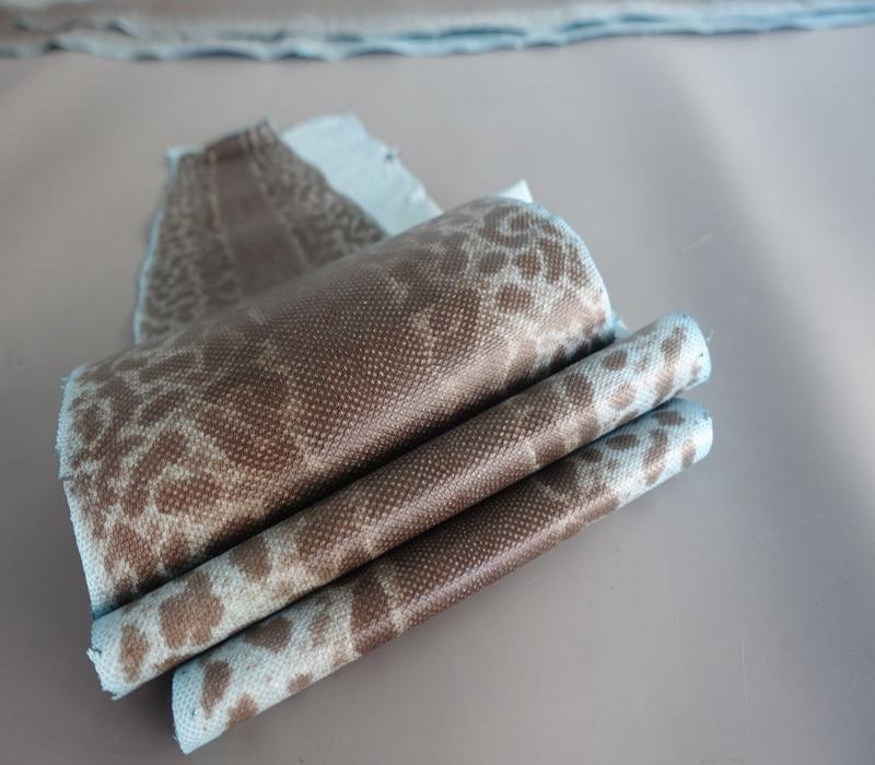 Grande taille grain bleu clair véritable peau de serpent de sable nature cuir pièce entière artisanat matériel pour portefeuille sac à main bricolage
