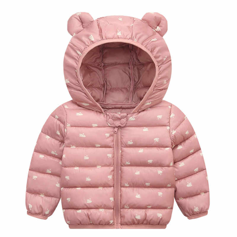 תינוק בנות מעיל 2019 סתיו חורף מעיל בנות מעיל ילדים חם סלעית הלבשה עליונה ילדי בגדי תינוקות בנות מעיל