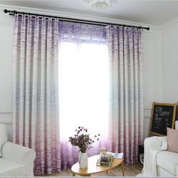 Nowoczesny skandynawski proste zasłony do salonu wrażenie cegła ściana sypialnia pływające okno tkaniny bawełniane i lniane