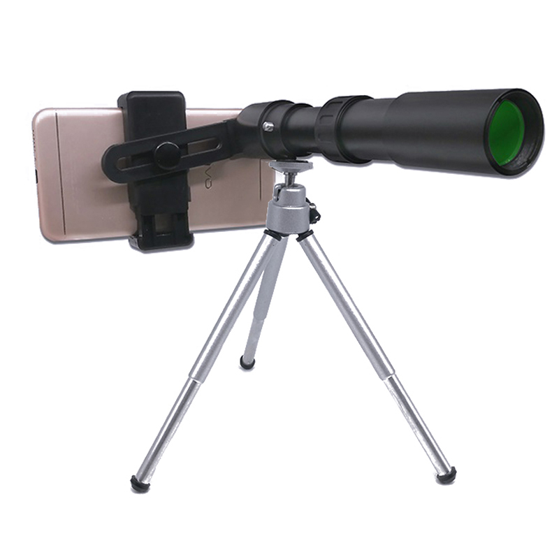 portatil 10x 30x zoom monocular telescopio do telefone 03