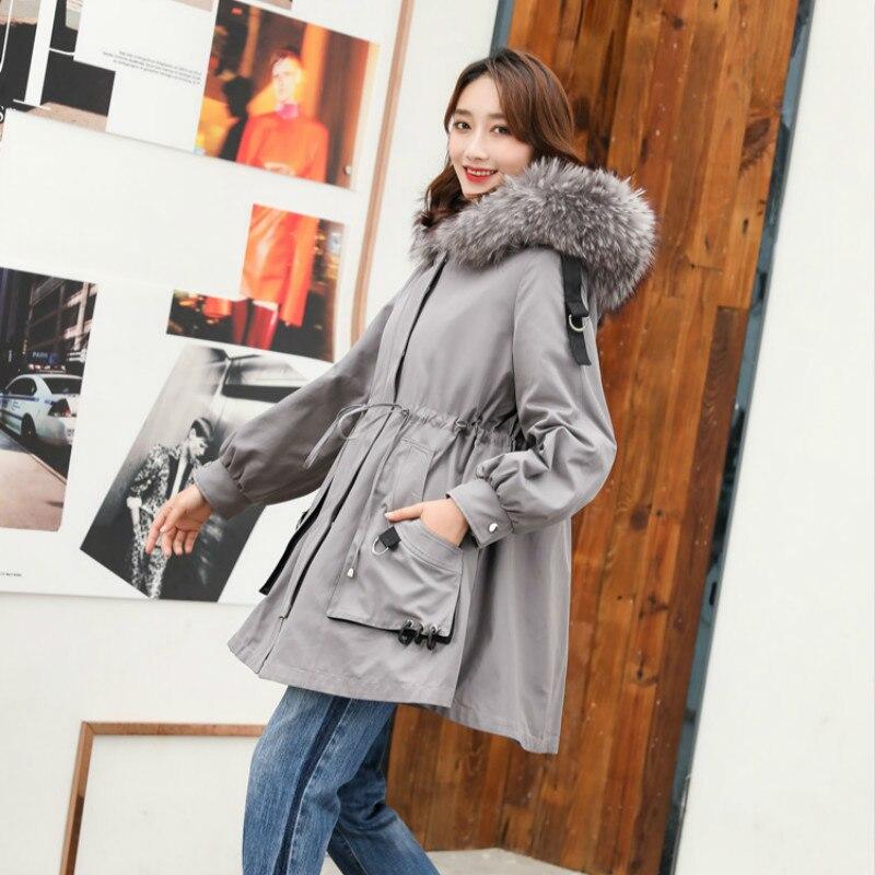 Real Fur Coat Women Winter Coat Women Rex Rabbit Fur Coat Women Real Fur Parka Long Jacket Abrigos Mujer Invierno 2020 8907YY874