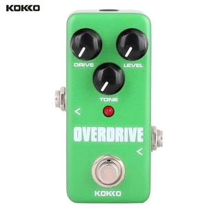 Image 4 - KOKKO Guitar Effect Pedals Compressor Overdrive Booster Distortion Effect Pedal Board 10 Isolated Output Pedal Power Supply
