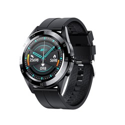 2021 Y10 Smart Watch Men Bluetooth Call Heart Rate Information Reminder Sport Waterproof SmartWatch for Android IOS Phone