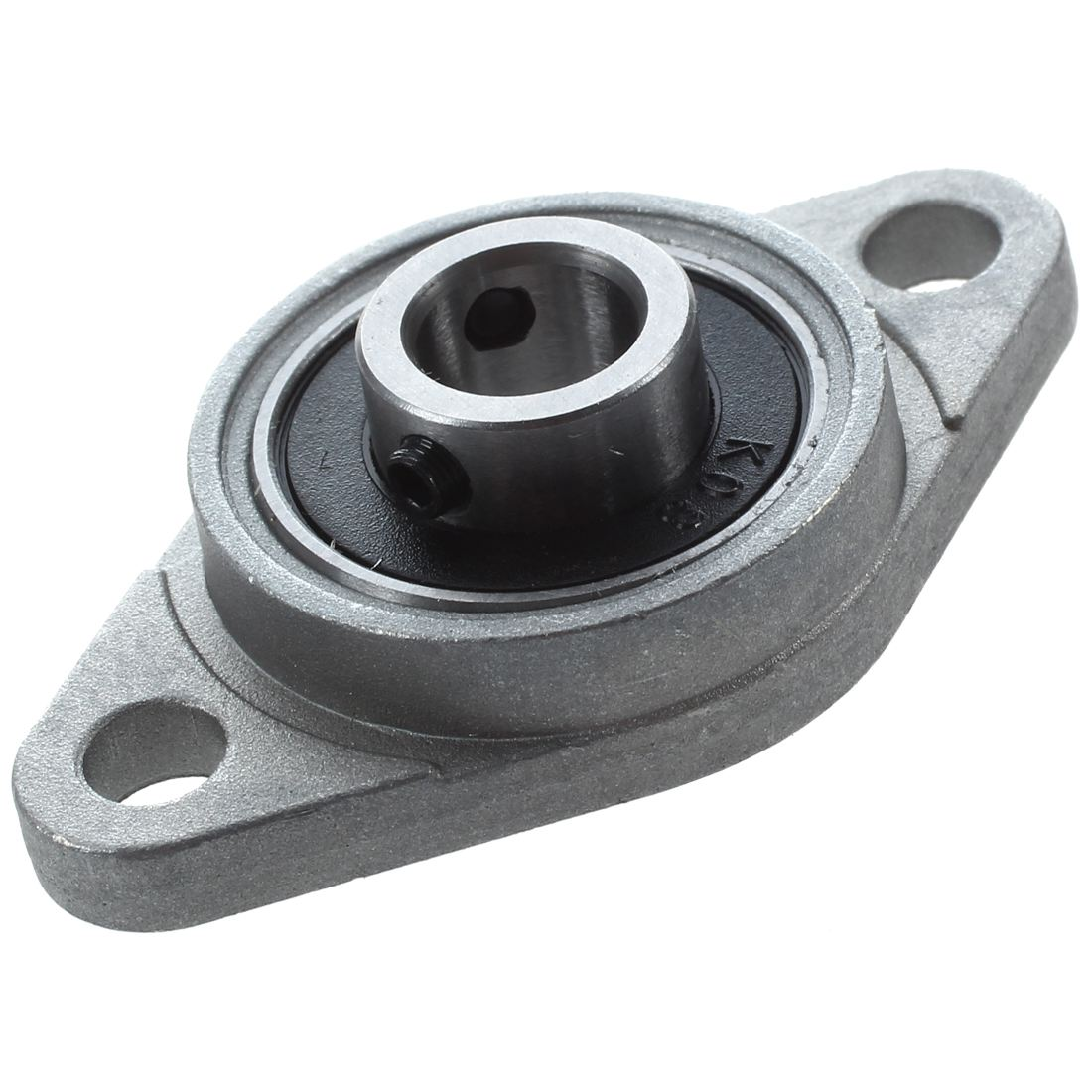 KFL08 8mm Mounted Block Cast Housing Self-aligning Pillow Bearing