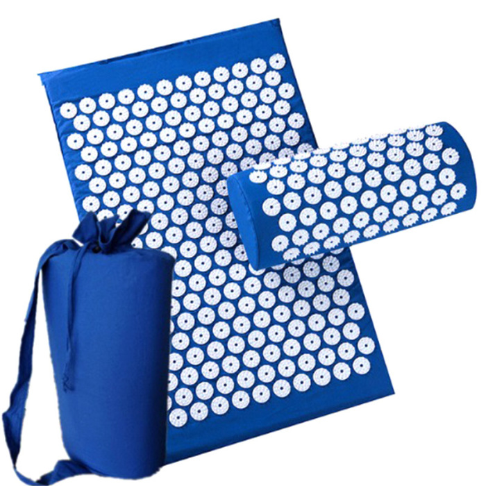 SEC88 Acupressure Massage Mat with Pillow set for Stress Pain and Tension Relief 24