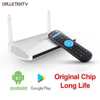 Leadcool Android 8.1/9.0 tv Box Rk3229 1GB/2GB 8GB/16GB Full HD 4K H.265 2.4G WiFi Set Top Box Smart Android Tv BOX