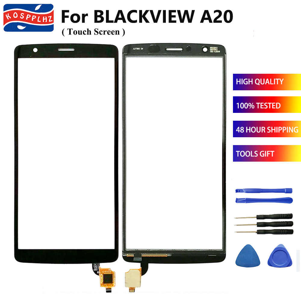 KOSPPLHZ Für Blackview A20 A30 Touchscreen Glas Panel TouchScreen Sensor Für Blackview A20 A30 Front Glas Objektiv Panel + werkzeuge