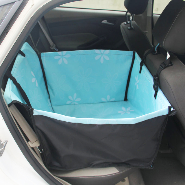 Pet Dog Car Carrier Seat Bag Folding Hammock Safety Waterproof Basket For Cats Dogs Outdoor Travel Pets Dog Seat Hanging Bags 1