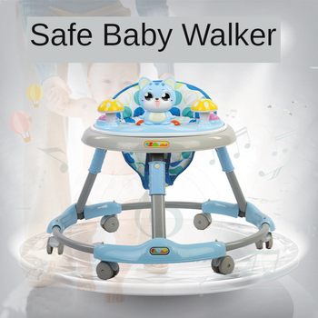 New Baby Walker Anti-o-leg Boy and Girl with 6-18 Months Toddler Learning