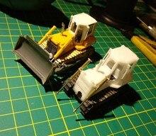 DasMikro Das87 DS87E07 HO Skala 1/87 734 Bulldozer DIY Kit Mit Zwei Motoren