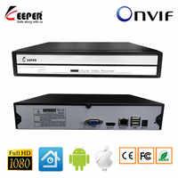 Keeper Mini 4CH 8CH 16CH 1080P NVR для ip-камеры CCTV сетевой видеорегистратор Поддержка Onvif Protocal