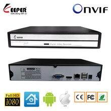 Keeper Mini enregistreur vidéo en réseau, NVR, 4CH, 8CH, 16CH, 1080P, pour caméra IP CCTV, prend en charge un protocole Onvif