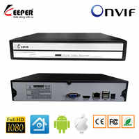 KeeperMini 4CH 8CH NVR Multi-language 1080P NVR For IP Camera CCTV Network Video Recorder Support Onvif Protocal