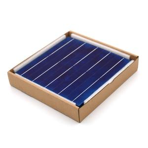 Image 5 - Polykristallijne Silicium Zonnepaneel 10/50/80/100 Pcs 156*156 Mm Zonnecel 6X6 Grade Een Pv Diy Fotovoltaïsche Sunpower C60 4.79W 0.5V