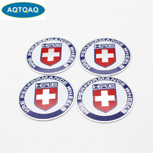 4Pcs/Set 56mm HRE Car Steering Tire Wheel Center Sticker Hub Cap Hubcap Sticker Emblem Badge Decal Car Styling