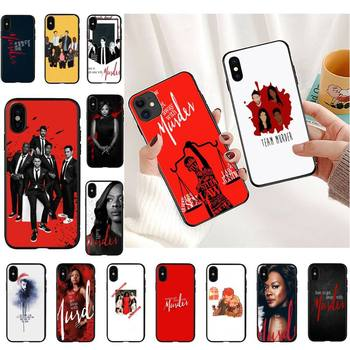 How to Get Away with Murder Phone Case For iPhone 11 8 7 6 6S Plus 7 plus 8 plus X XS MAX 5 5S XR 12 11 Pro max se 2020 Cover image