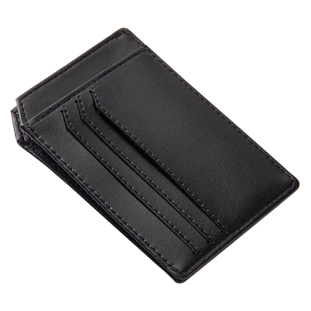 Men Short Purse PU Leather Card Holder Thin Wallet Coin Pocket Casual Billfold New