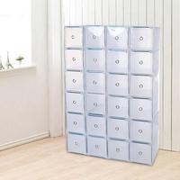 Transparent High Heel Shoes Box Plastic Shoe Boxes Home Organizer Sneakers Organization Storage Shoe Cabinet Box