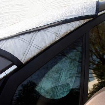 Car Exterior Protection Snow Blocked Car Covers Snow Ice Protector Visor Sun Shade Front Rear Windshield Cover Block Shields|Car Covers| |  -