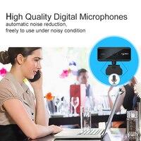 Camera USB Webcam Full HD 1080P With Microphone Auto Focusing Rotatable PC Laptops Video Calling Desktop CMOS 5 Million Pixels