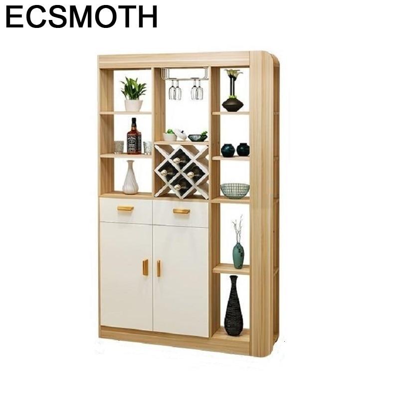 Table Kast Meja Kitchen Dolabi Cristaleira Meuble Adega Vinho Mobili Per La Casa Shelf Commercial Bar Furniture Wine Cabinet