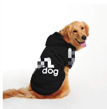 S-9XL Warm Large Dog Clothes Big Dog Clothes Hoodie Coat Sweater for Large Pet dog clothing Golden image