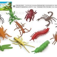 Детская модель, маленькая модель насекомого, мини-животное, океаны, серия насекомых, наборы твердых игрушек, модель
