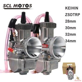 SCL MOTOS 1PC Park ZSDTRP 28mm 30mm 32mm 34mm carburador de la motocicleta carburador para 125-250cc 2T 4T Moto ATV UTV Pit Bike de la bici de la suciedad