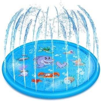 170cm Inflatable Spray Water Cushion Summer Kids Play Water Mat Lawn Games Pad Sprinkler Play Toys Outdoor Swiming Pool бассейн для детей inflatable pool 2015 96 65 28 swiming pool