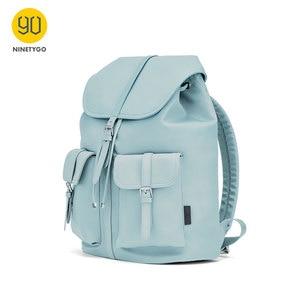 Новое поступление 2020, нейлоновый женский рюкзак NINETYGO 90FUN, женский рюкзак для ноутбука 14 дюймов, водонепроницаемый, модный стиль, нейлоновая ...