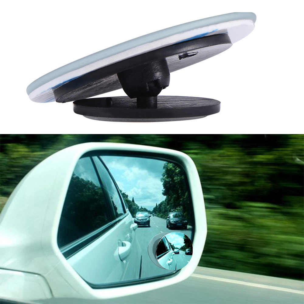 Aozbz 車の車両の hd ミラー死角 360 度広角ラウンド凸自動リアビュすべての車