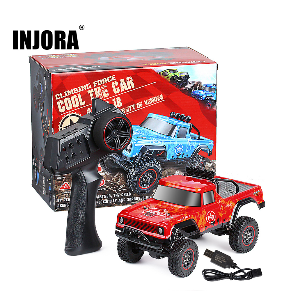Радиоуправляемый гусеничный автомобиль INJORA, масштаб 1:18, 2,4 г