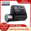 70mai Dash Cam Pro Plus 1944P Встроенный GPS ADAS 70mai плюс автомобиля тире Камера двойная камера 70mai плюс A500 A500S Видеорегистраторы для автомобилей 24 часа в су...