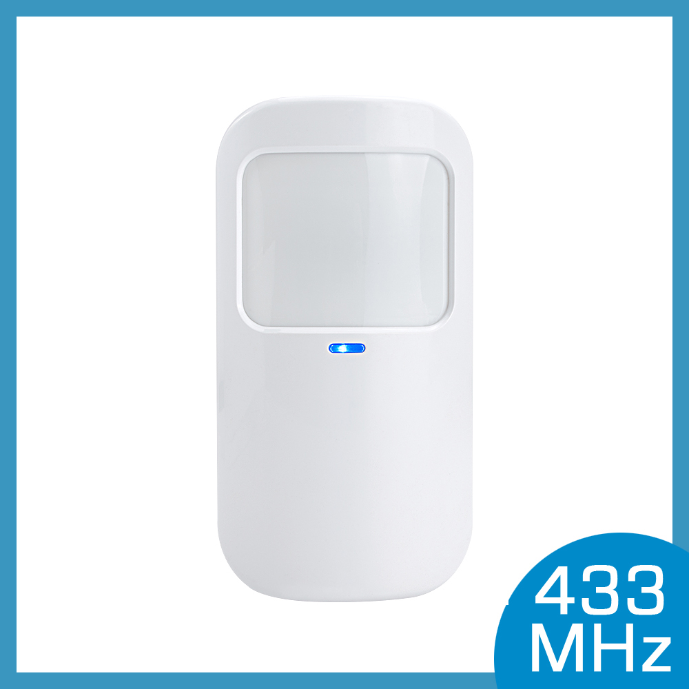 Wireless Motion PIR Detector 433MHz Movement Sensor With Battery <font><b>For</b></font> Wifi <font><b>GSM</b></font> <font><b>Home</b></font> Security <font><b>Alarm</b></font> <font><b>System</b></font> <font><b>Burglar</b></font> image